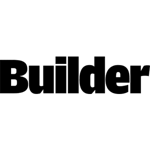 Marnie featured on the cover and inside of Builder magazine's July 2020 issue